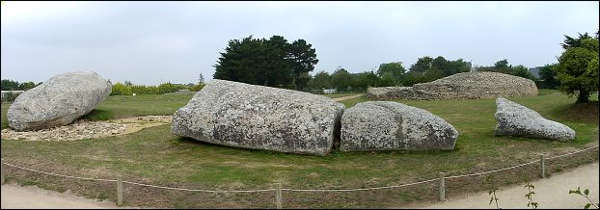 [Image: Grand Menhir of Carnac]