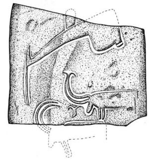 [Image: The plow and ibex, Grand Menhir at Carnac, 4000 to 5000 BC]